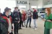 Экскурсия студентов в Официальный автосервис  «Чебоксары-Лада»